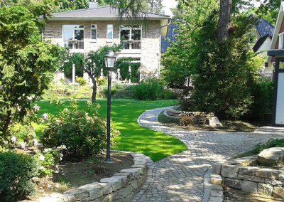 professionelle Gartenpflege eines Privatgartens in Glienicke (Nordbahn)