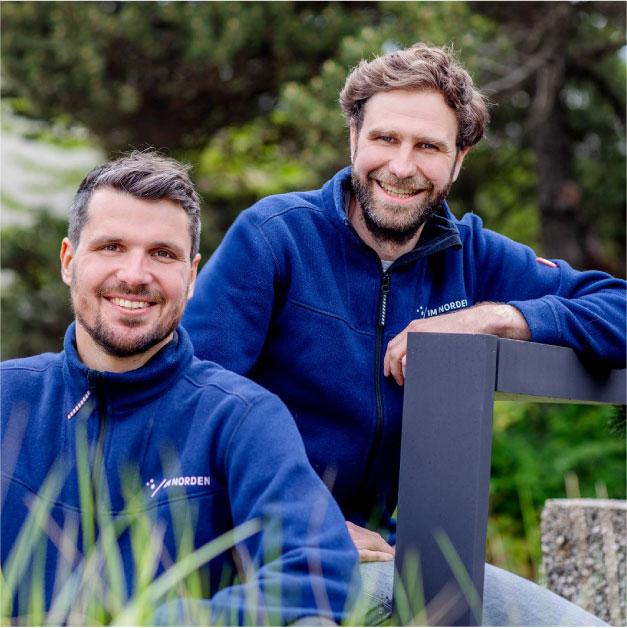 Moritz Boldt und Johannes Plückhahn