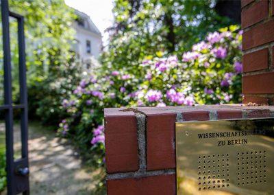 Gartenpflege: Wissenschaftskolleg