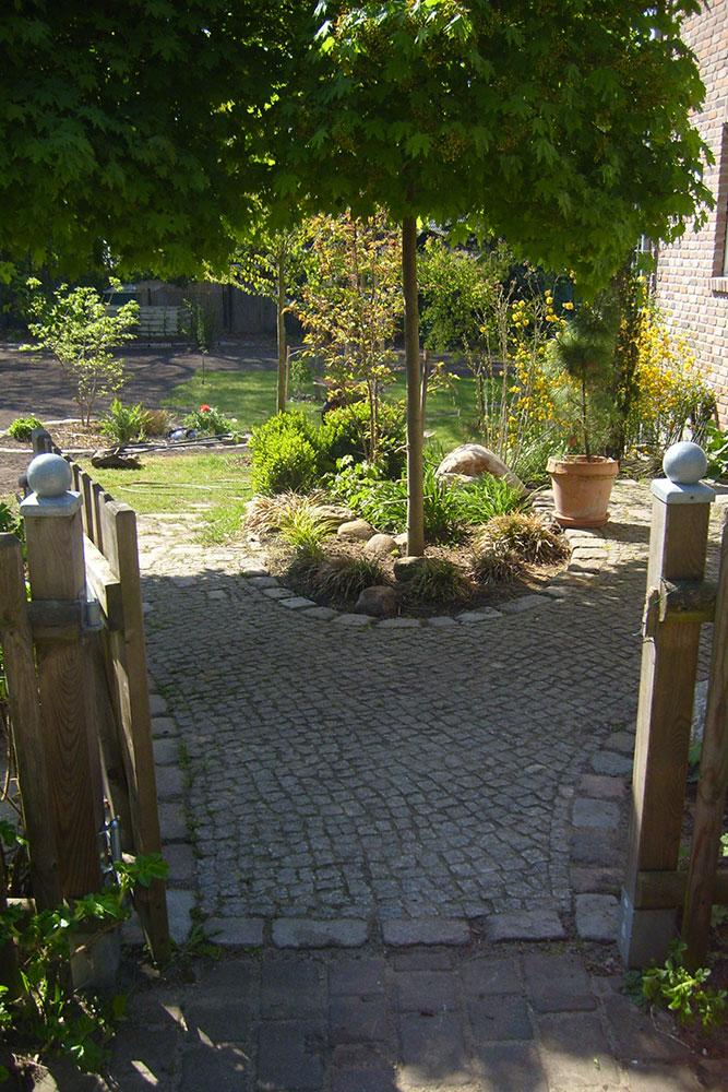 Privatgarten in Glienicke/Nordbahn